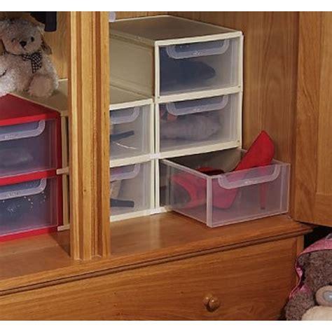 Plastic Drawers Uk by Buy 8 Litre Single Plastic Drawer Unit Plastic Shoe