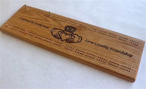 Custom Crib Boards by Custom Tournament Cribbage Board