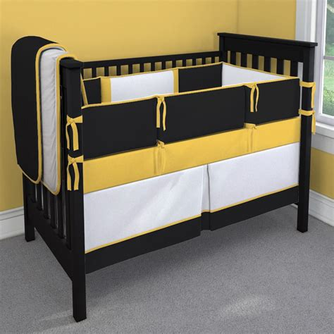 Black And Gold Crib Bedding Sports Team Black Gold And White Nursery Idea Customizable Crib Bedding Set Carousel Designs