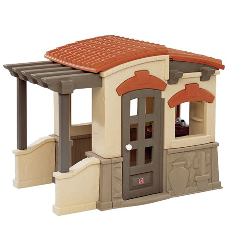 Outdoor Playhouse Furniture For by Step 2 Naturally Playful Adobe House Toys