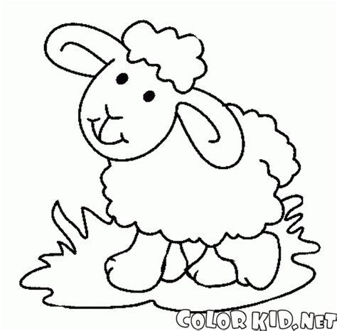 small sheep coloring page malvorlagen spielzeug schafe