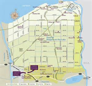 wineries map niagara on the lake wineries map my