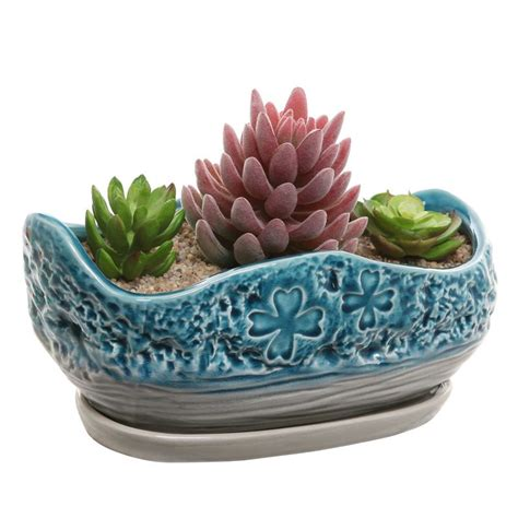 Decorative Ceramic Planters by Decorative Flower Pots To Display Your Favorite Plants Decor On The Line
