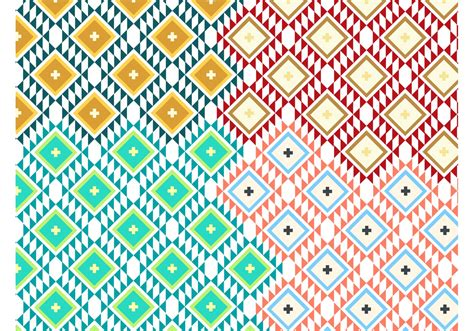 patterns free navajo pattern vectors free vector stock