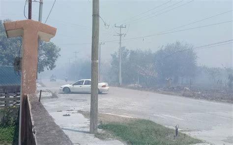 cabecera municipal incendios rodearon cabecera municipal de aldama el sol