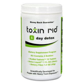 Toxin Rid Detox Pills by Toxin Rid 5 Day Detox Program Pros And Cons Health