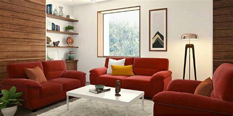 Kursi Merah kursi tamu sofa alora merah
