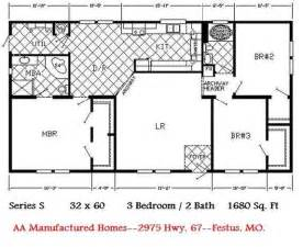 Double Wide Home Floor Plans by Double Wide Mobile Home Pictures 171 Mobile Homes