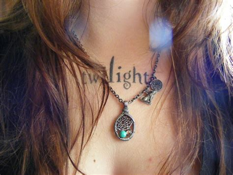 twilight tattoo my twilight and my jacob necklace