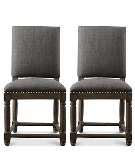Macys Dining Chairs Clayton Set Of 2 Dining Chairs Direct Ship Furniture Macy S