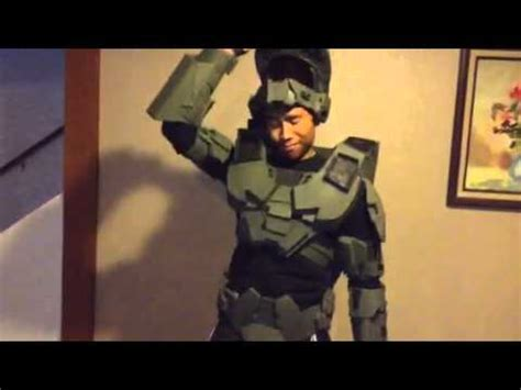 How To Make A Paper Armor - this awesome half finished cardboard halo armor