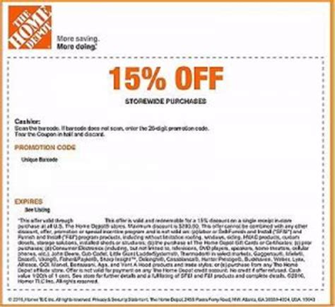 home depot savings june printable coupons