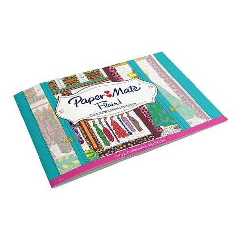 coloring kit paper mate 174 flair coloring kit glam closet edition target