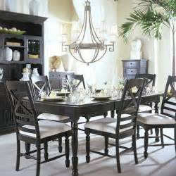 Dining Room Tables Sets by Elegant Contemporary Black Dining Room Furniture Sets