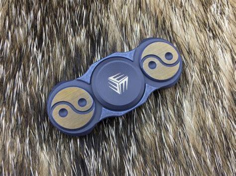 Mecarmy Gp1 Titanium Copper Carbon Fiber Fidget Spinner we s01a titanium fidget spinner blue edc store indonesia