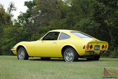 opel yellow 1970 opel gt original ca car 3rd owner auto