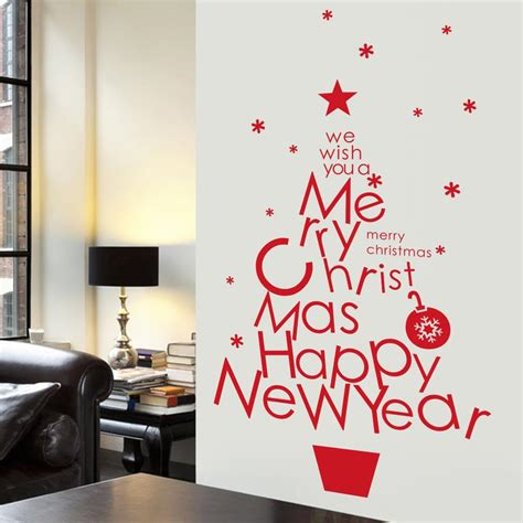 diy merry christmas wall stickers decorations santa claus wall stickers removable vinyl wall