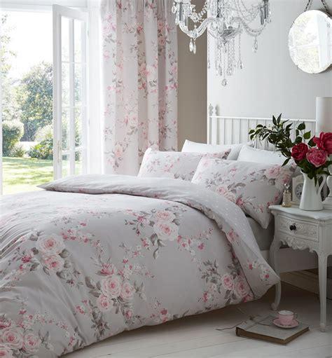 Autumn Flower King Bedcover Set Floral Modern Quilt Duvet Cover Pillowcase Bedding Bed