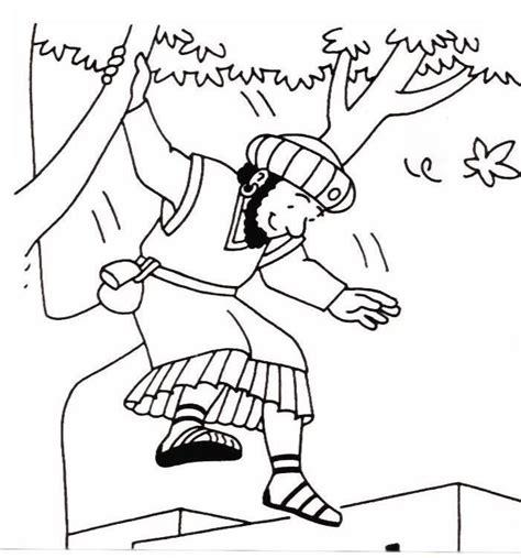 dibujos para pintar cristianos dibujo para pintar sobre zaqueo dibujos biblicos