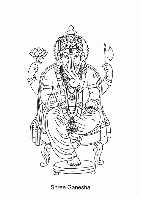 ganesh tattoo outline ganesh outline sketches tattoo pictures
