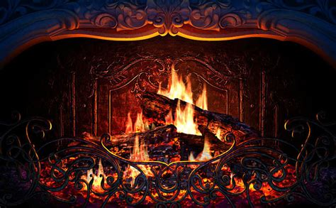 Live Fireplace Wallpaper by 3d Place Screensaver 3d Screensaver