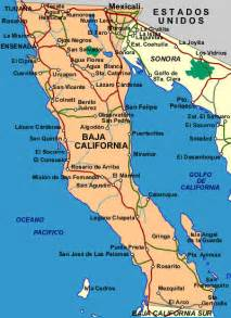 map of baja california norte free printable maps