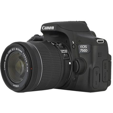 canon eos 750d kit 18 55mm is stm parallel imported