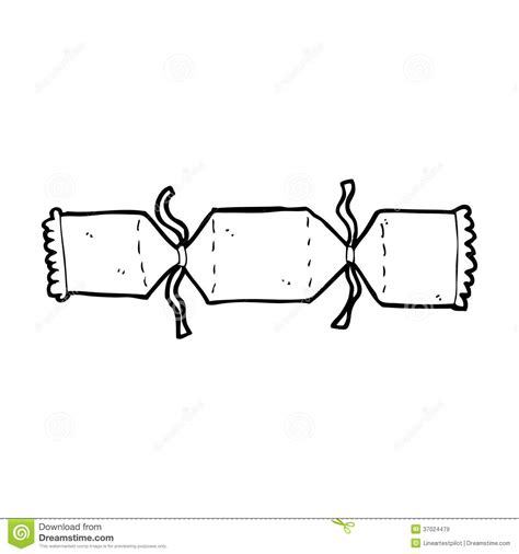 cartoon christmas cracker royalty free stock images