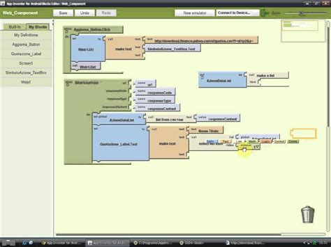 tutorial web app android tutorial il componente web di android app inventor youtube