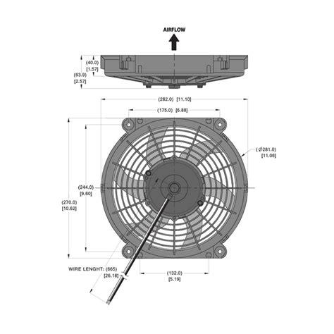 10 inch radiator electric radiator fan 10 inch diameter from merlin