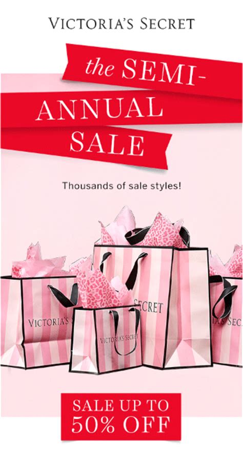 sale secret s secret the semi annual sale fashion
