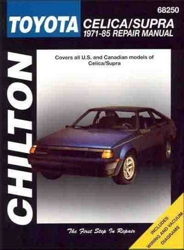 car owners manuals free downloads 1996 toyota celica navigation system toyota supra repair manual ebay