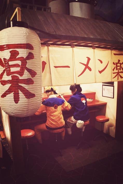 otaku king ichiraku ramen shop itadakimasu