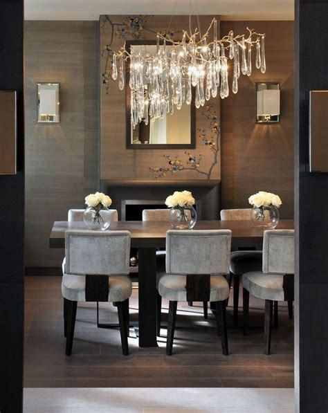 dining room designs with simple and elegant chandilers 10 crystal chandeliers for dining room design