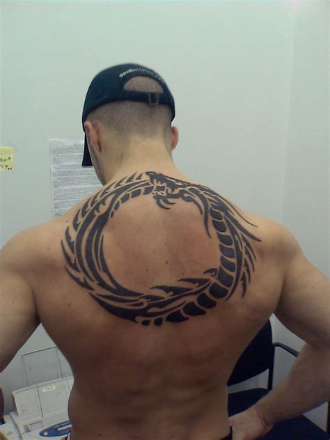 tribal back tattoo tribal all about world