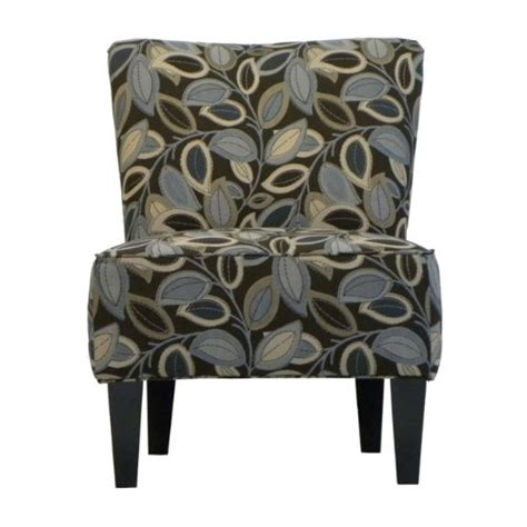 Blue And Brown Accent Chair Black Friday Handy Living 340c Ptl52 035 Halsted Armless Transitional Accent Chair Brown And