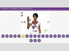 Nuevo traductor en Internet: español-lenguaje de señas ... Lenguaje De Internet