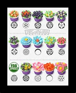 Russian Piping Tips 49 pcs Icing Tips   My Kitchen Store