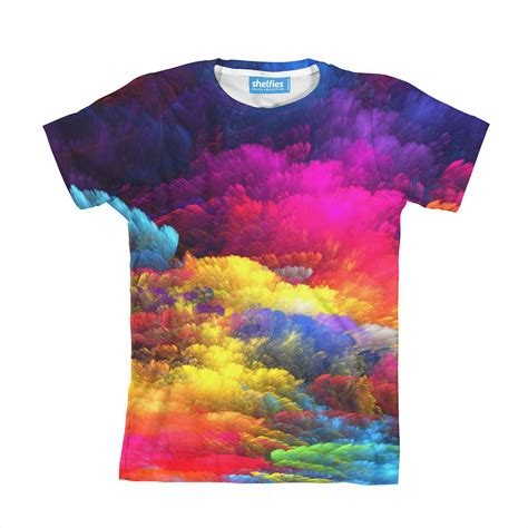 colorful shirt abstract colors youth t shirt shelfies