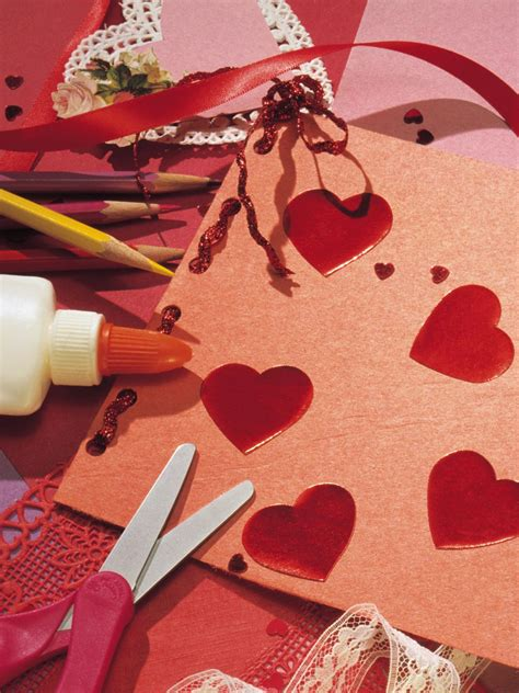 Handmade Valentines - tips for crafting handmade valentines hgtv