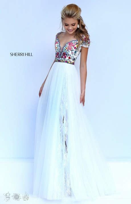 sherri hill   boho babe gown prom dress