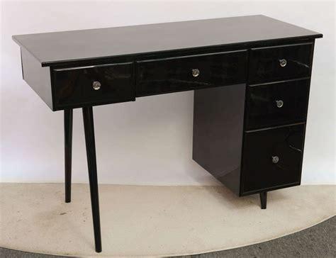 black vanity desk mccobb style black vanity desk at 1stdibs