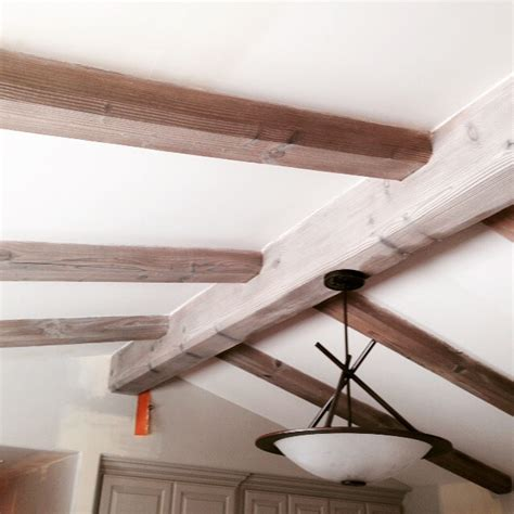 Mba Support Beam by From Gardners 2 Bergers Rustic Beam Makeover
