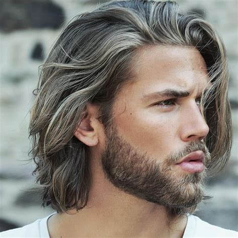 hairstyles for men in their twenties with grey hair long grey hairstyles 2018 men s hairstyles pinterest