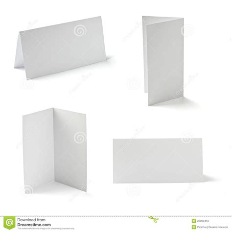 folded card templates for photographers folded card stock photo cartoondealer 22363410