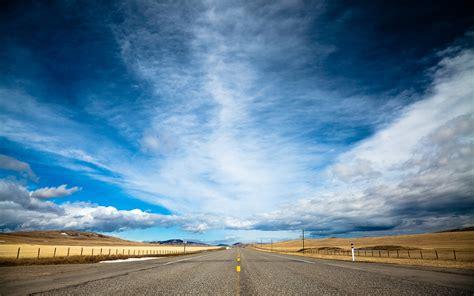 download wallpaper awan road sky wallpaper 658022