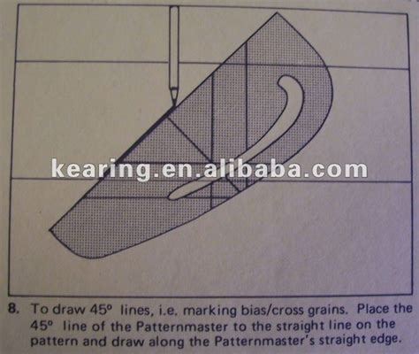 kearing brand dressmaking patterns grading ruler pattern kearing brand metric patternmaster seam allowance garment