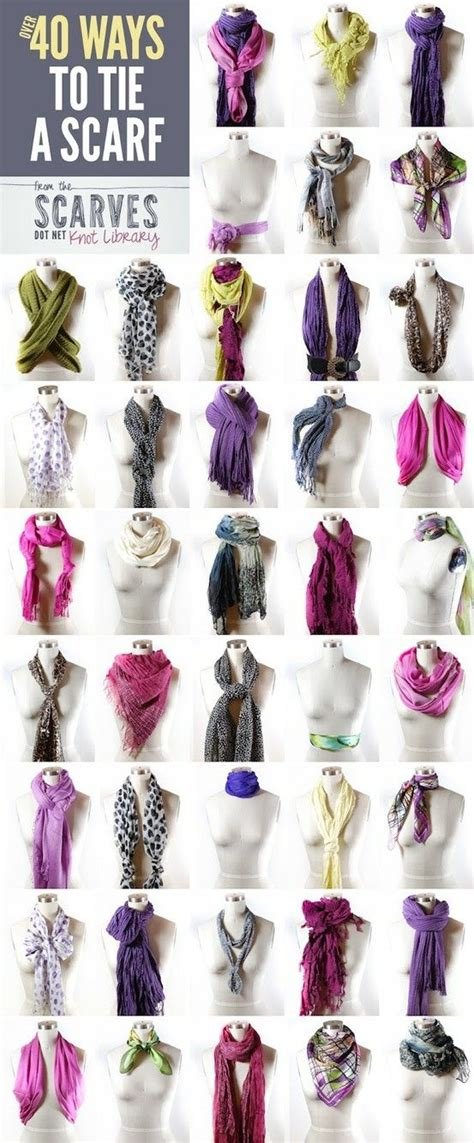 tutorial ways to wear a scarf style lesson 50 chic creative ways to wear a scarf