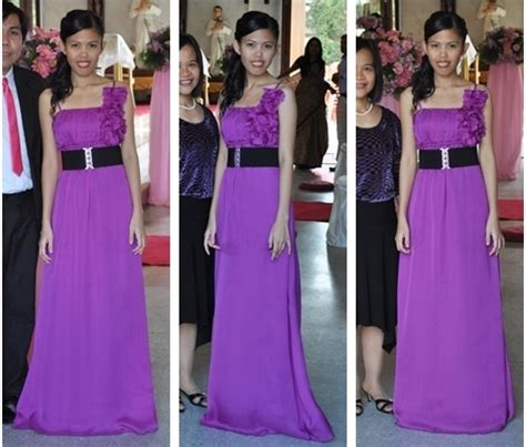 what goes with purple how to wear a purple dress