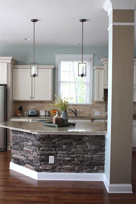 kitchen island base love the stone base kitchen island great so you don t the